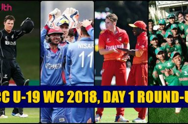 New Zealand, Afghanistan, Zimbabwe, Bangladesh win their first matches
