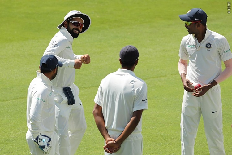 Virat Kohli abuses during live match once again, this time motivates his bowlers — WATCH
