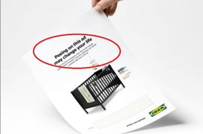 IKEA ad, bizarre ads, weird ads, IKEA pee Ad, viral, Twitter Ikea Ad