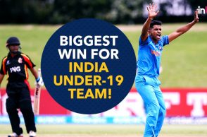 Anukul Roy Under-19 World Cup, Who is Anukul Roy. Anukul Roy, Prithvi Shaw, Under-19 World Cup 2018, India vs Papua New Guinea, Kamlesh Nagarkoti, Shivam Mavi, India's biggest win in Youth ODIs