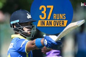 JP Duminy, JP Duminy 5 sixes in an over, JP Duminy 37 runs in an over, JP Duminy Cape Cobras, JP Duminy IPL 2018 auction, Most runs in an over, JP Duminy records,