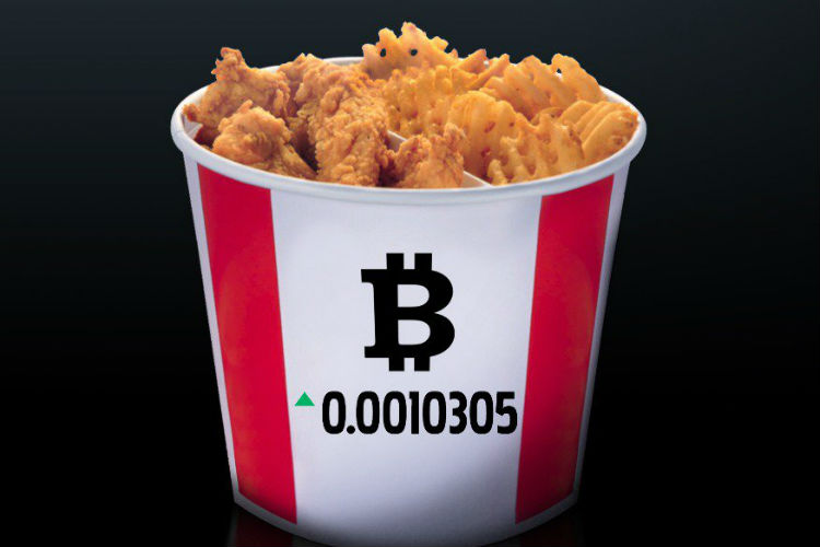 Traveling to Canada? Don't forget to try KFC's 'Bitcoin Bucket'