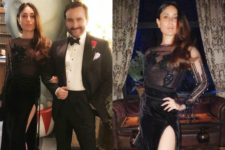 Kareena Kapoor's all black chic New Year avatar is a perfect start to2018