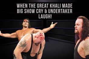 Khali Big Show, The Great Khali backstage, The Great Khali stories, inUth exclusive, WWE stories, Great Khali vs Big Show, The Undertaker laughing, Great Khali interview