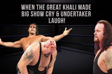 Khali Big Show, The Great Khali backstage, The Great Khali stories, inUth exclusive, WWE stories, Great Khali vs Big Show, The Undertaker laughing, Great Khali interview