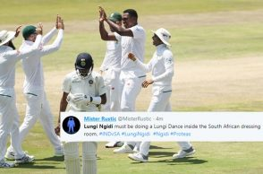 Lungisani Ngidi, India vs South Africa 2nd Test, IND vs SA 2018, Centurion, South Africa vs India, Twitter reactions, India vs South Africa Test series