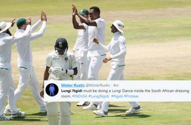 Lungisani Ngidi, India vs South Africa 2nd Test, IND vs SA 2018, Centurion, South Africa vs India, Twitter reactions, India vs South Africa Test series