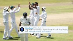 Twitter erupts as Lungisani Ngidi's 6-for leads South Africa to a comprehensive 135-run win over India