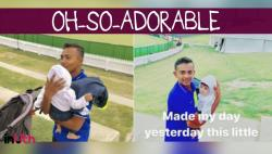 Prithvi Shaw's adorable moments with babies is winning hearts in New Zealand -- WATCH
