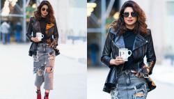 Is Priyanka Chopra's quirky 'skirt-jeans' the new denim trend of 2018?