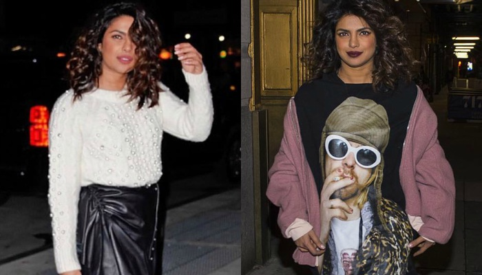 These two boho chic looks of Priyanka Chopra are winter style goals