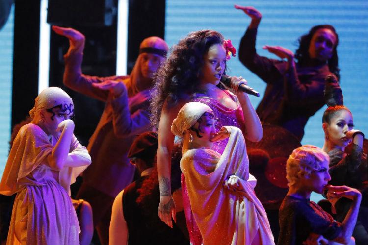 Rihanna, Grammy Awards, 2018