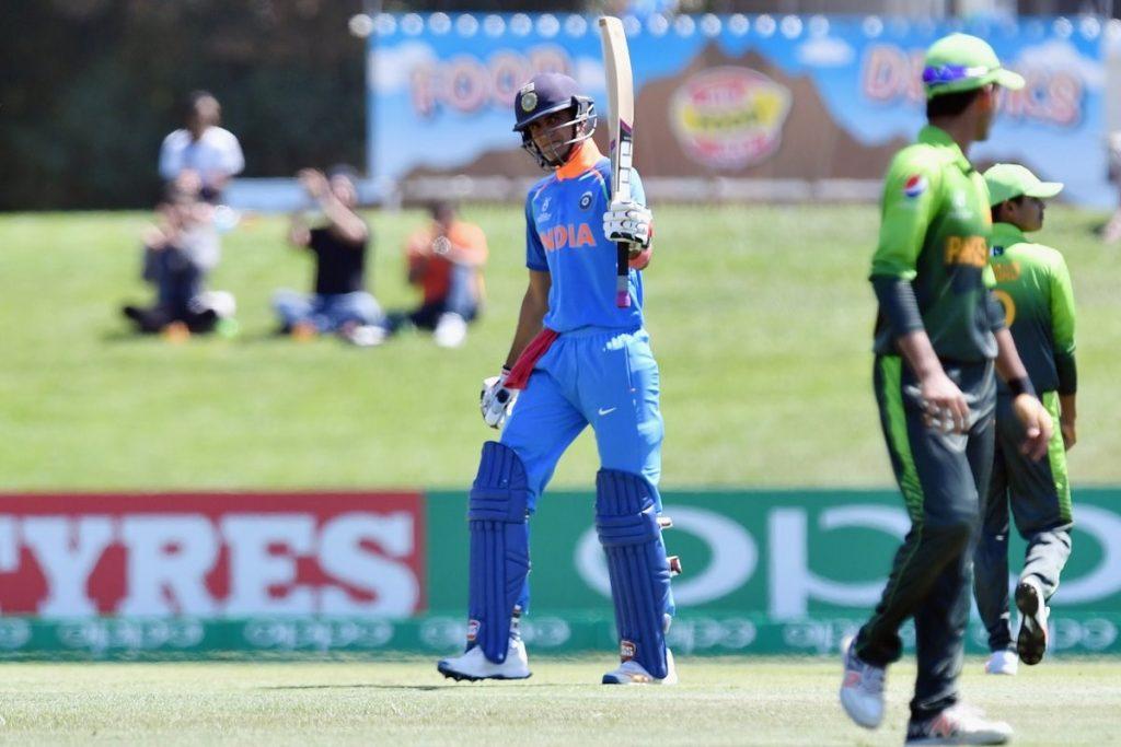 U-19 Indian Cricketer Shubman Gill