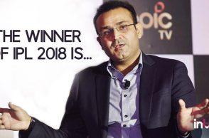 IPL 2018: Virender Sehwag predicts winner of the 11th edition