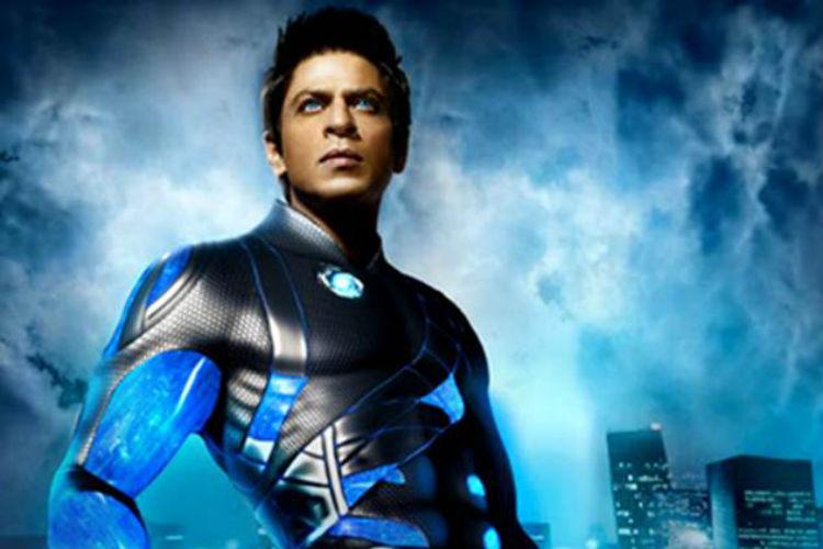 Shah Rukh Khan in RaOne