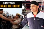 Shanky Singh reveals truth behind giving 'chokeslam' to policeconstables