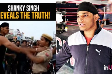 Shanky Singh Reveals Truth Behind Giving Chokeslam To Police Constables