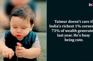 Taimur Ali Khan, Saif Ali Khan, Facebook page, Taimur Ali Khan satire, Taimur Ali Khan pics, Humans of Hindutva, Facebook parody page Taimur Ali Khan