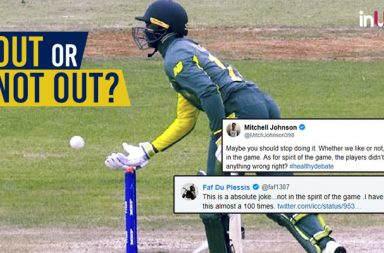 Controversial runout, Handling the ball, Obstructing the field, Under-19 World Cup, Jiveshan Pillay, Jarion Hoyte, Under-19 World Cup 2018 controversies, Mitchell Johnson, cricketers Twitter