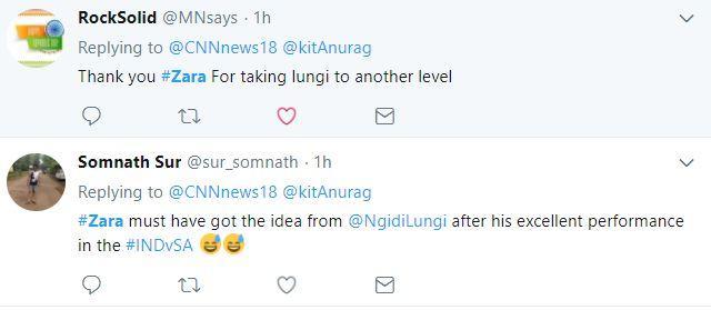 Zara lungi skirt tweets