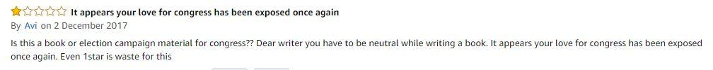 Comment on Sagarika Ghose's book