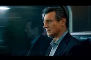 Liam Neeson, Liam Neeson movies, Liam Neeson The Commuter, The Commuter movie review, The Commuter review, Liam Neeson The Commuter review, Vera Farmiga, Patrick Wilson, Taken