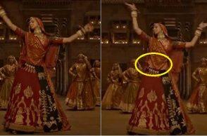 Padmaavat, Deepika Padukone, Deepika Padukone VFX midriff, Deepika Padukone Ghoomar, Deepika Padukone movies, Sanjay Leela Bhansali, Shahid Kapoor, Ranveer Singh