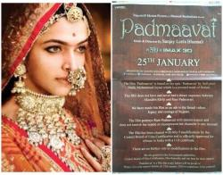 'Padmaavat' producers release the most non-offensive posters ever, but it should make you really angry