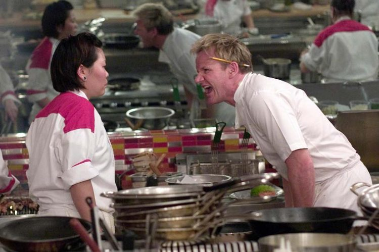 When chef Gordon Ramsay's daughter dropped the f-bomb on her own father