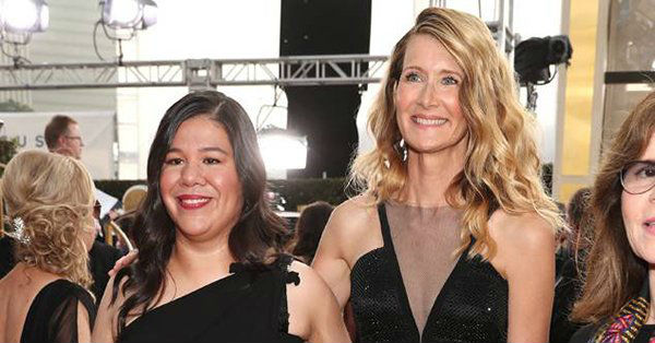 Laura Dern and Monica Ramirez
