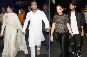 In Pics: Celebs attend Padmaavat screening