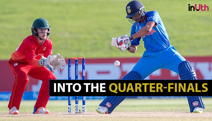 Under-19 World Cup: India romp over Zimbabwe with 10-wicket victory, qualify for quarter-finals