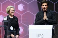 Shah Rukh Khan attends World Economic Forum 2018