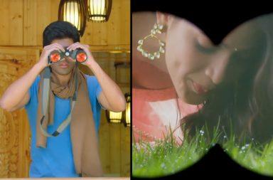 Still from Telugu movie, Stalking in Telugu movie, Srirastu Subhamastu | Photo created for InUth.com