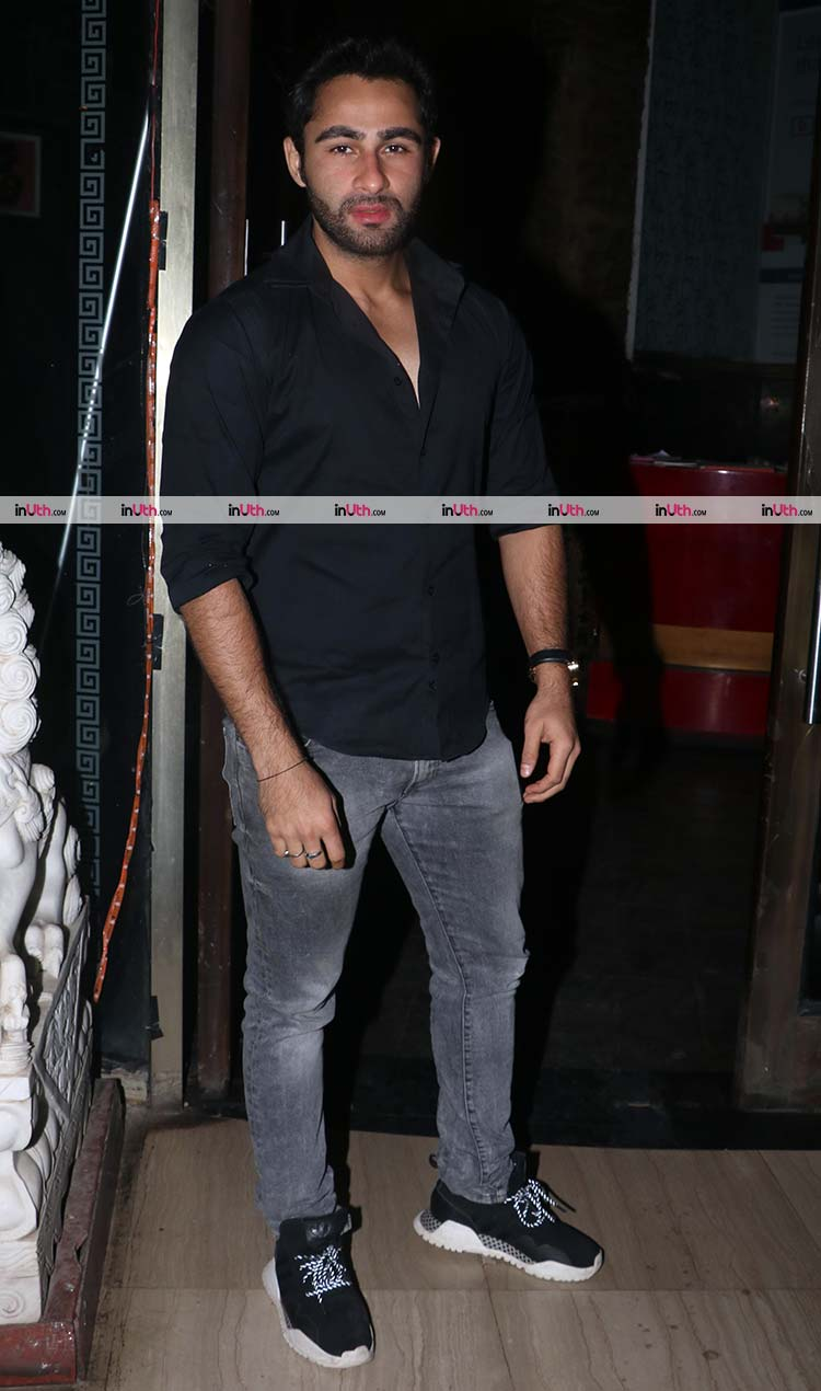 Armaan Jain during Randhir Kapoor's birthday bash