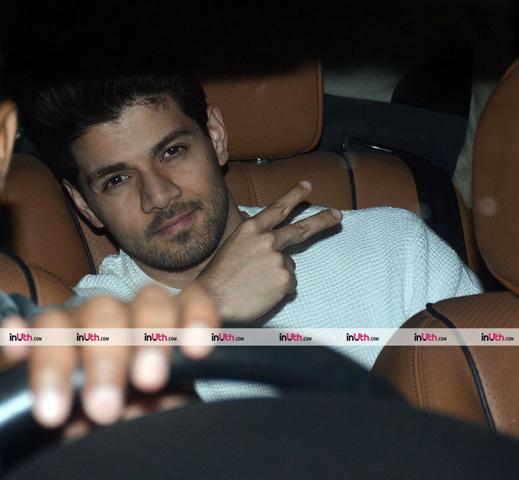 Sooraj Pancholi at Karan Johar's Valentine's Day party