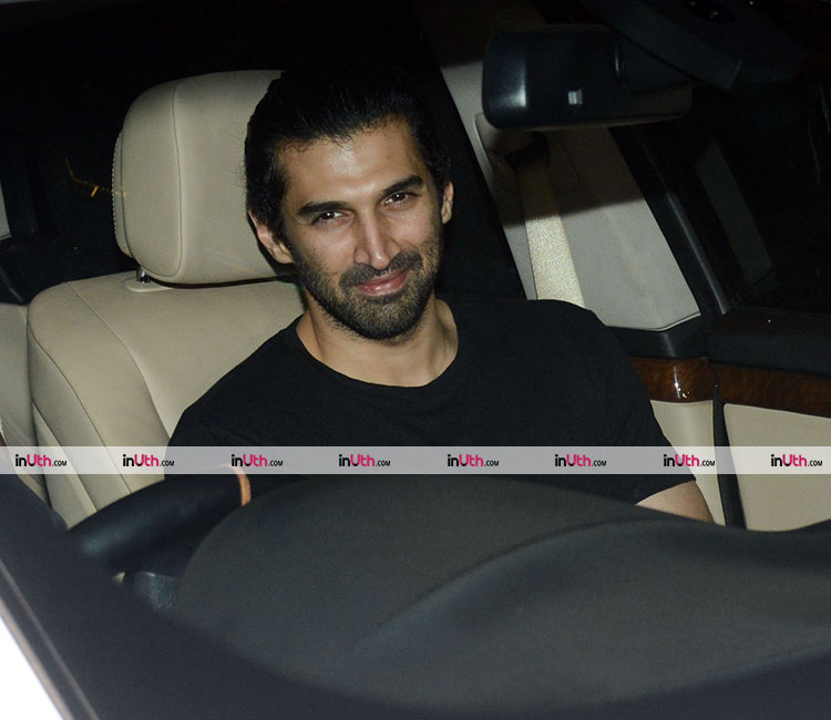 Aditya Roy Kapur at Karan Johar's Valentine's party