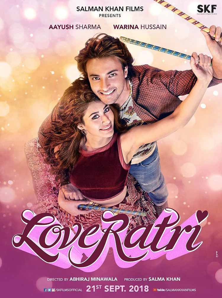 Aayush Sharma and Warina Hussain look beautiful in the first look of Loveratri