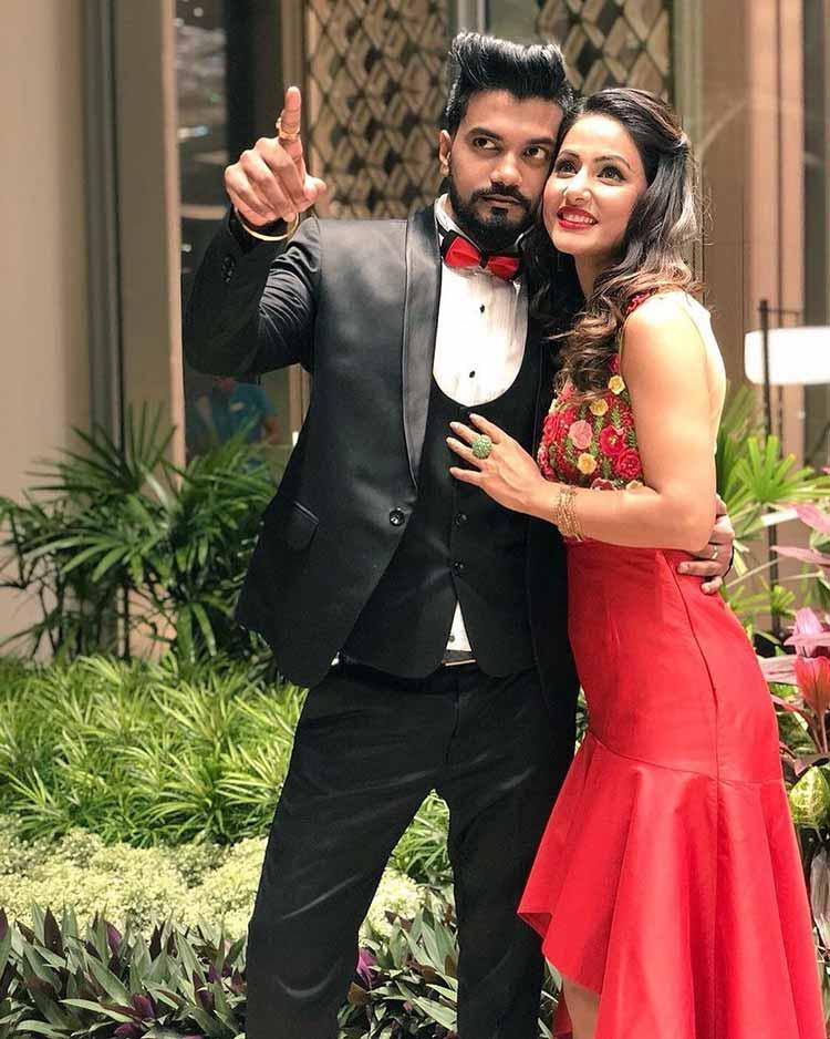 Hina Khan and Rocky Jaiswal performed during their Sri Lankan vacation