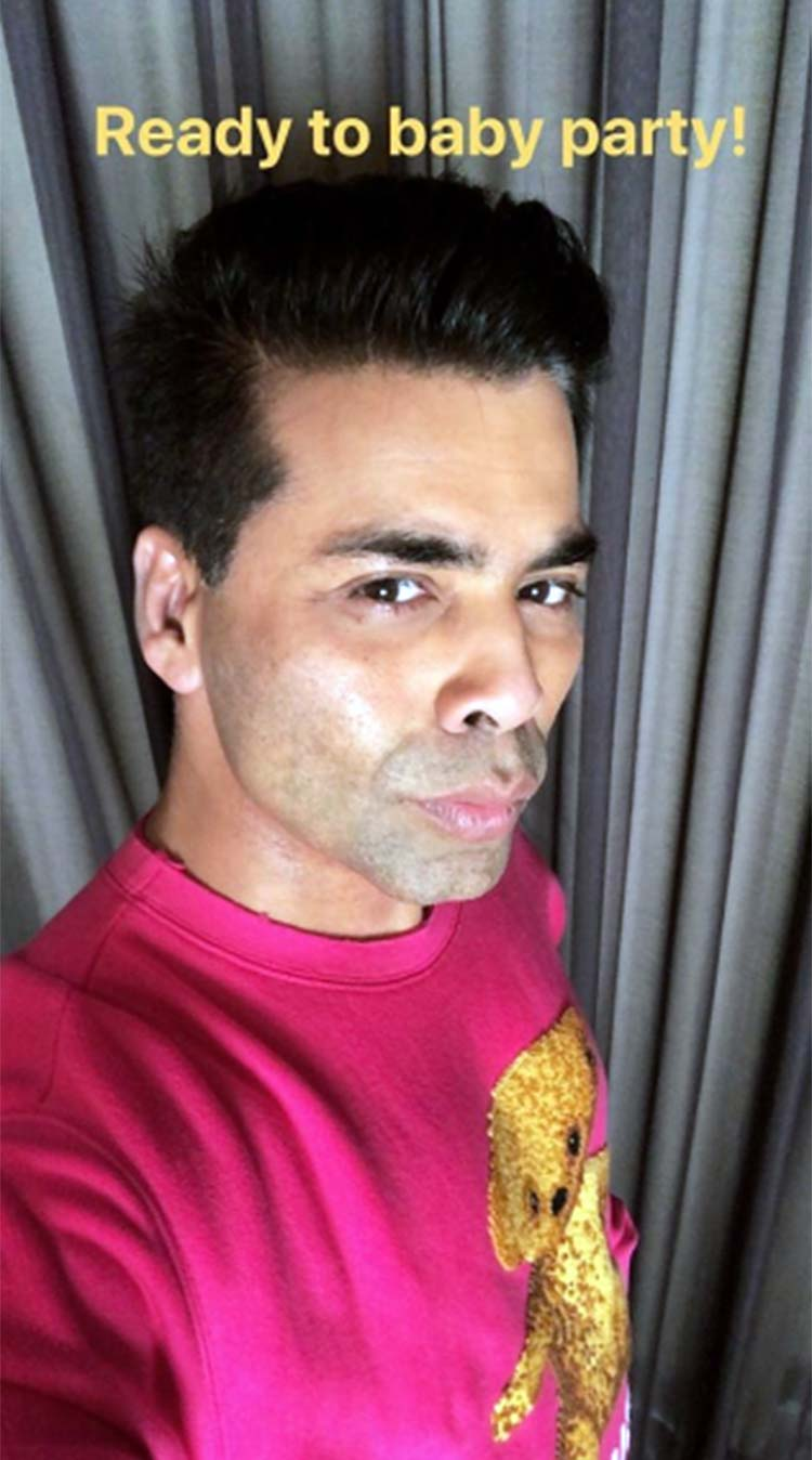Karan Johar gearing up for his babies' first birthday party