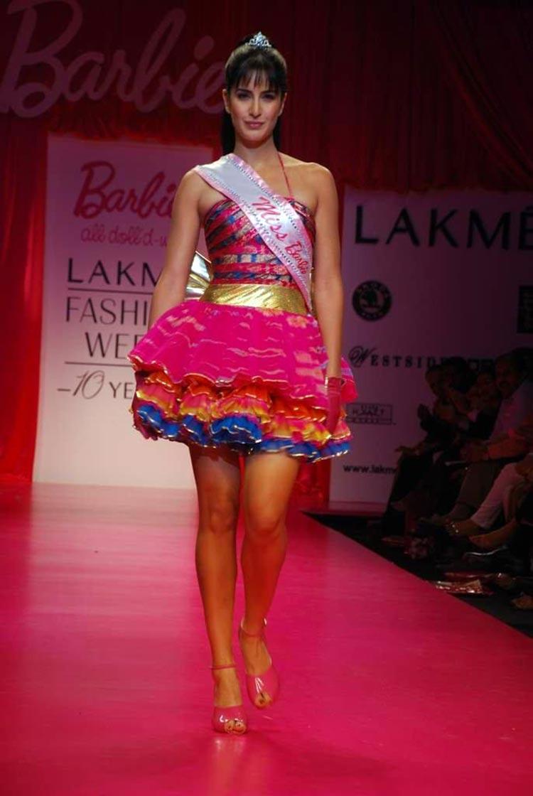 Katrina Kaif made her Lakme Fashion Week debut in 2009