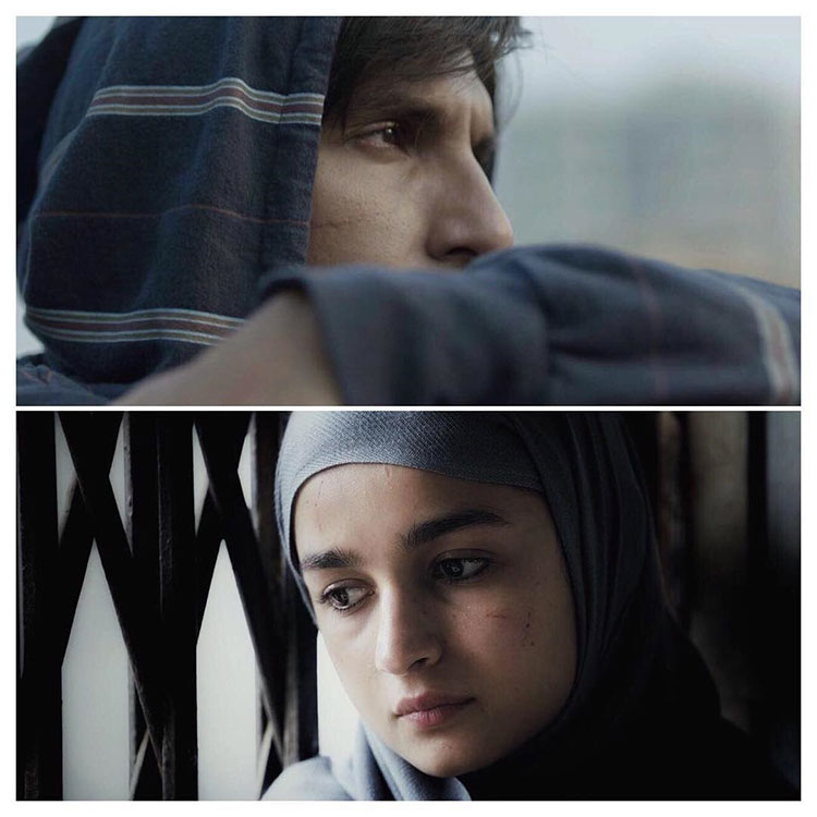 Ranveer Singh and Alia Bhatt's first look from Gully Boy