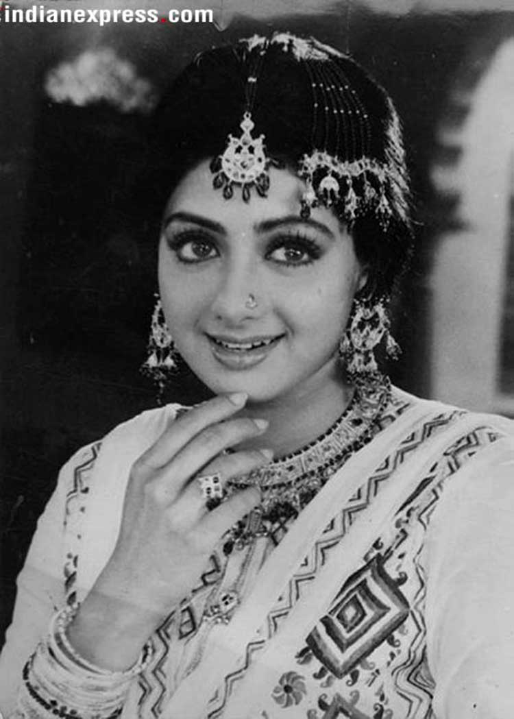 Sridevi had started acting at the age of 4