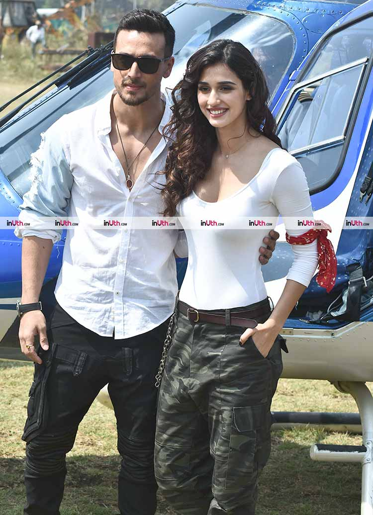 Tiger Shroff and Disha Patani snapped before Baaghi 2 trailer launch