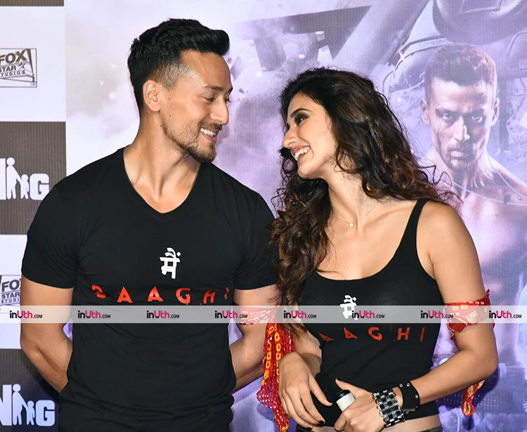 Tiger Shroff and Disha Patani's impressive chemistry at Baaghi 2 trailer launch