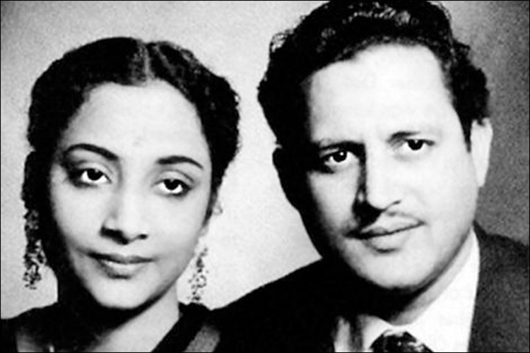 Guru Dutt and Geeta Roy's love story is a heartrending tale