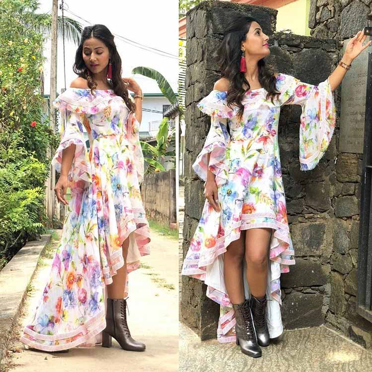 Hina Khan's travel style is pitch perfect