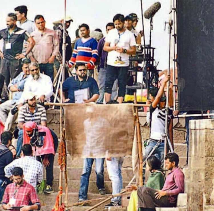 Super 30 shoot going on in Benaras