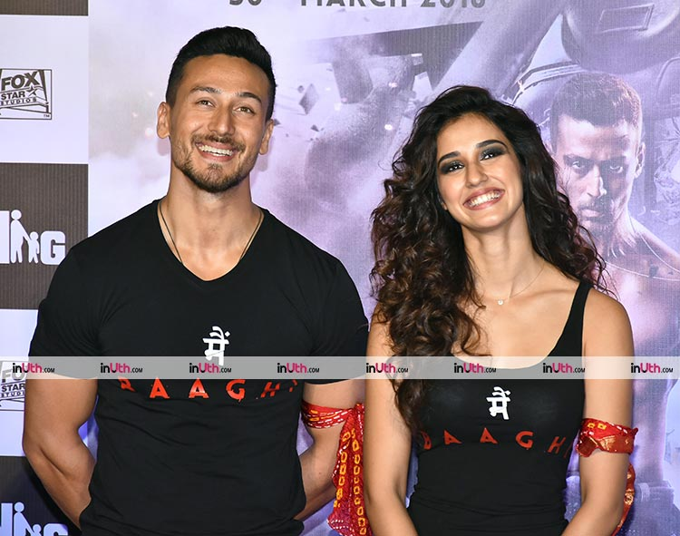 Tiger Shroff and Disha Patani looked amazing at Baaghi 2 trailer launch