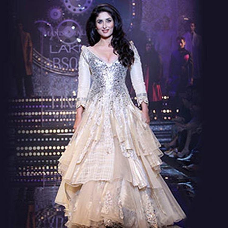 Kareena Kapoor made her Lakme Fashion Week debut in 2011